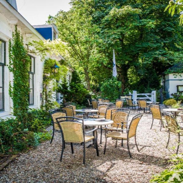 Hampshire Hotel – Schuddebeurs terras