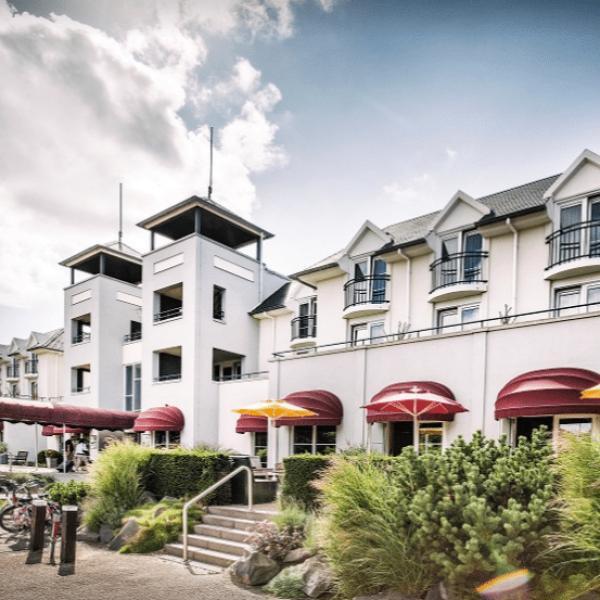 Buitenaanzicht Hotel De Zeeuwse Stromen