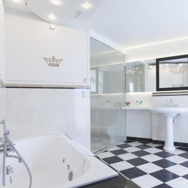 Hotel Kasteel Bloemendal badkamer