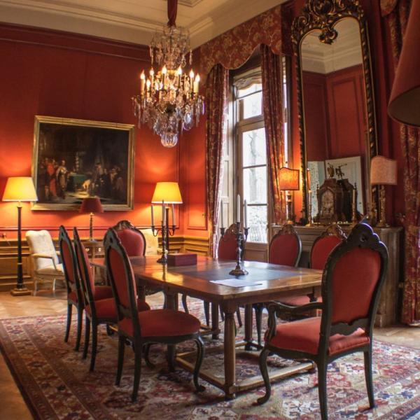 HdA - Koningshuis, Rode Salon