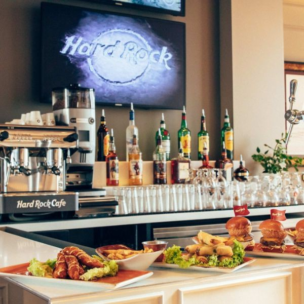 Hard Rock Hotel Brussels Gallery bar