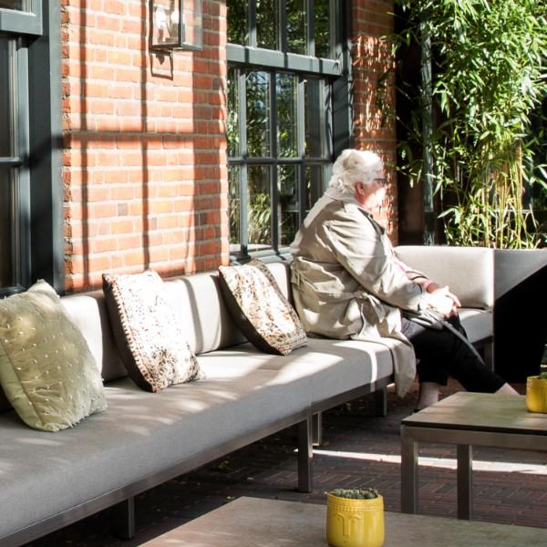 Oranje hotel Leeuwarden lounge area