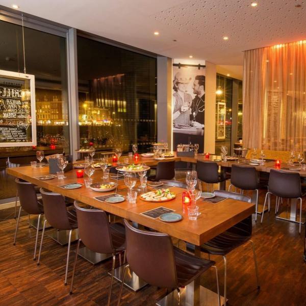 doubletree amsterdam restaurant