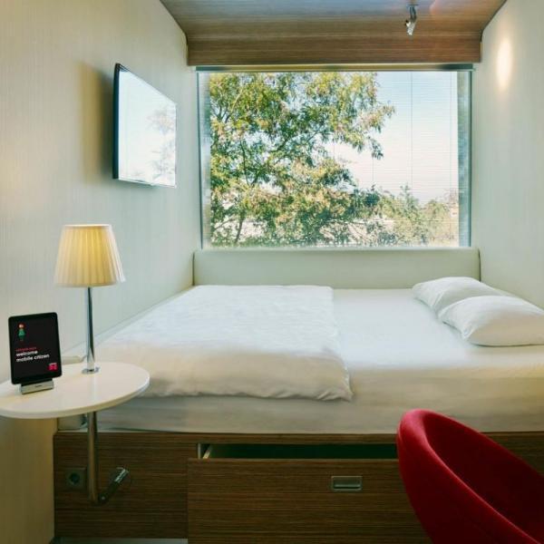CitizenM hotelkamer