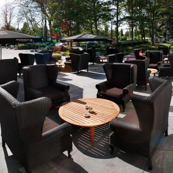 Restaurant Hotel & Spa Savarin terras