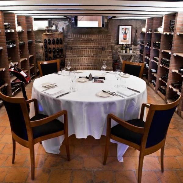 Restaurant Hotel & Spa Savarin wijnkelder