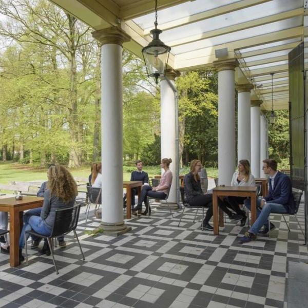 Landgoed de Horst terras