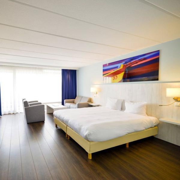 Fletcher Hotel-Restaurant Loosdrecht-Amsterdam hotelkamer
